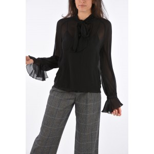 Max Mara Silk EUGENIO Blouse with Jewel Applications sale next 4Y7QRC5T