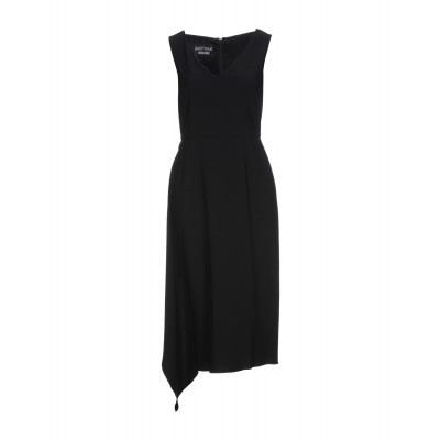 BOUTIQUE MOSCHINO Womens Knee-length dress Black on clearance 15072137QP