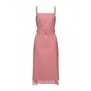 ROKH Womens Knee-length dress Pink on clearance 15082866PC