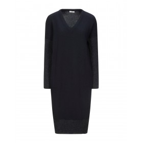 CAPPELLINI by PESERICO Womens Knee-length dress Dark blue quick shipping 15097945NP