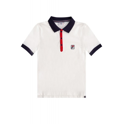 Dolce & Gabbana Womens Polo shirt with logo New Look 688538 0-A536
