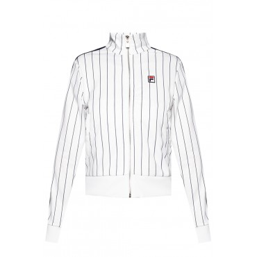 Dolce & Gabbana Womens Track jacket with stand-up collar in style 688535 0-A536