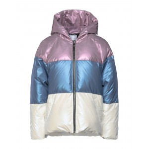 ANONYME DESIGNERS Womens Down jacket Lilac on sale 16025602MO