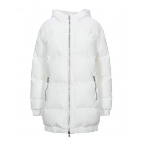 BOUTIQUE MOSCHINO Womens Down jacket White best 41960693HG