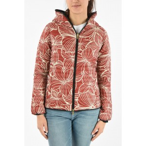 Duvetica Lightweight Floral Printed Reversible CARIATRE-ERRE Down Jacket on sale near me RFQXPQLB