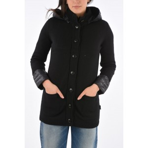 Duvetica Women's down jacket with detachable knitted detail D992RV5Z
