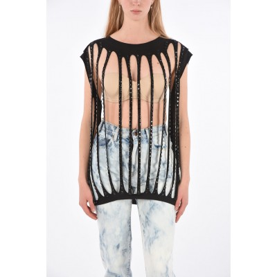 Diesel Sutdded IDRIS Cut Out Top Lowest Price ROICW6XX