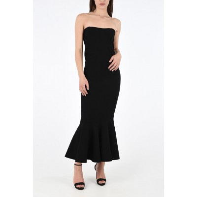 Alaia Womens bodycon Trumpet Dress On Sale DY7EP0SI