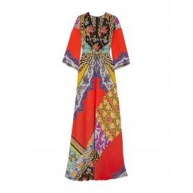 ETRO Womens Long dress Red in store 15068362RX