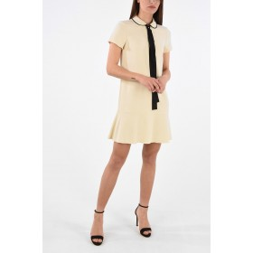 Red Valentino Mini Dress with Bow Comfort RDF9MR7A