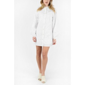 Tommy Hilfiger Cotton Emboidered Long Sleeve Shirtdress with Petticoat on sale online 06NRTKOE
