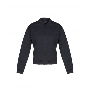 MAJESTIC FILATURES Womens Bomber Dark blue Free Shipping 41838521CP