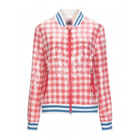 MY TWIN TWINSET Womens Bomber Red high quality 41853225EM
