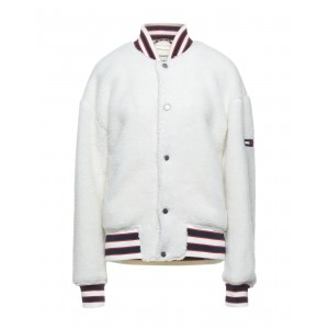 TOMMY JEANS Womens Bomber White on clearance 16029611SW