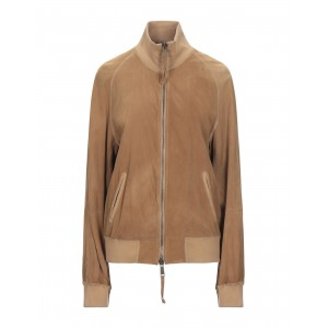 DSQUARED2 Womens Leather jacket Brown 16004633MU