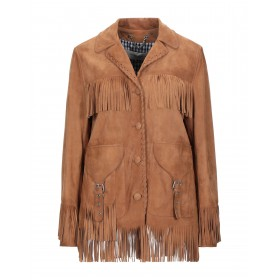 GOLDEN GOOSE DELUXE BRAND Womens Leather jacket Tan 41999270WA