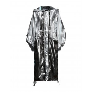 JUST CAVALLI Womens Full-length jacket Silver 16016787PM